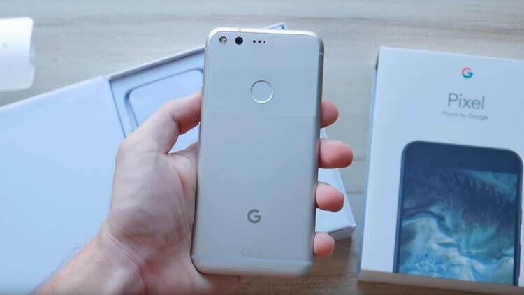 Google Pixel сзади