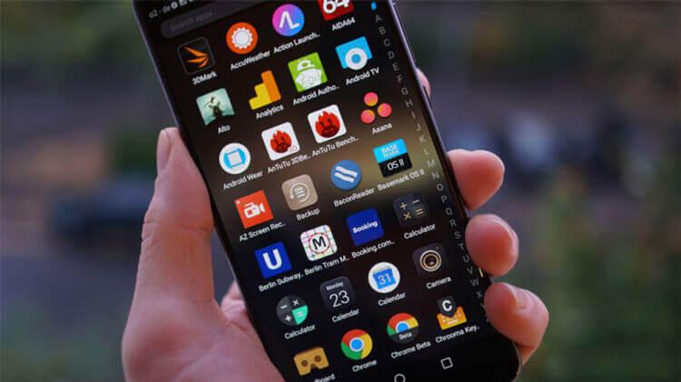 Приложения на Huawei Mate 10 Pro