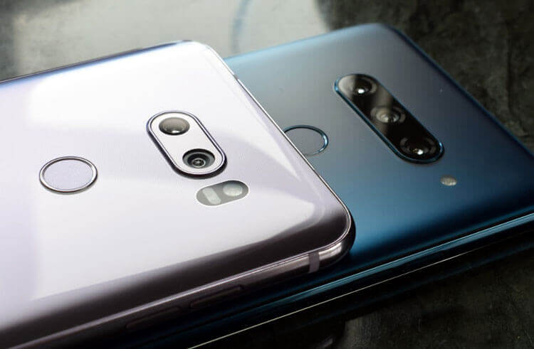 Камеры LG V40 и V30