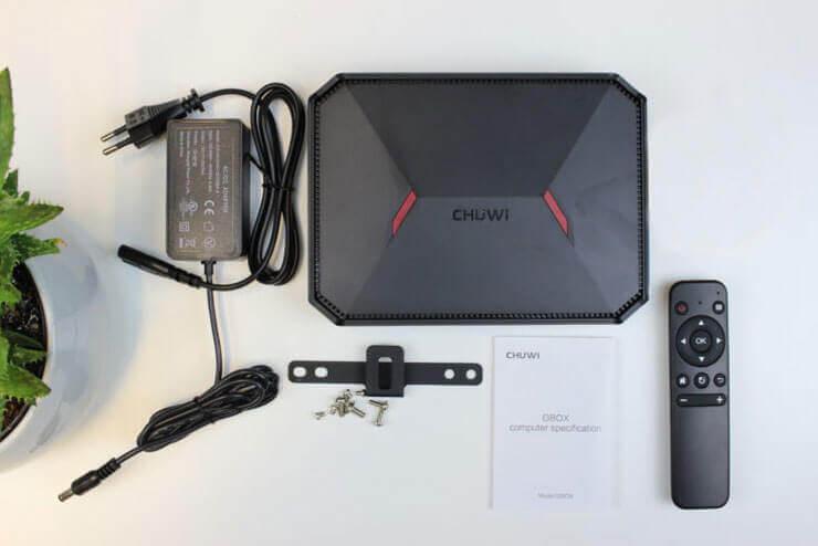 Комплектация CHUWI GBox