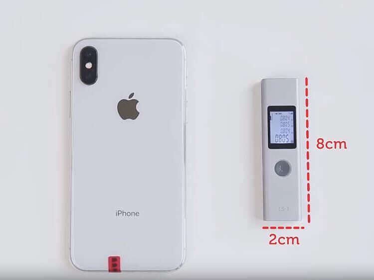 Размеры Alfawise LS-1