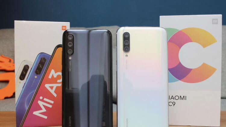 Xiaomi Mi A3 в сравнении
