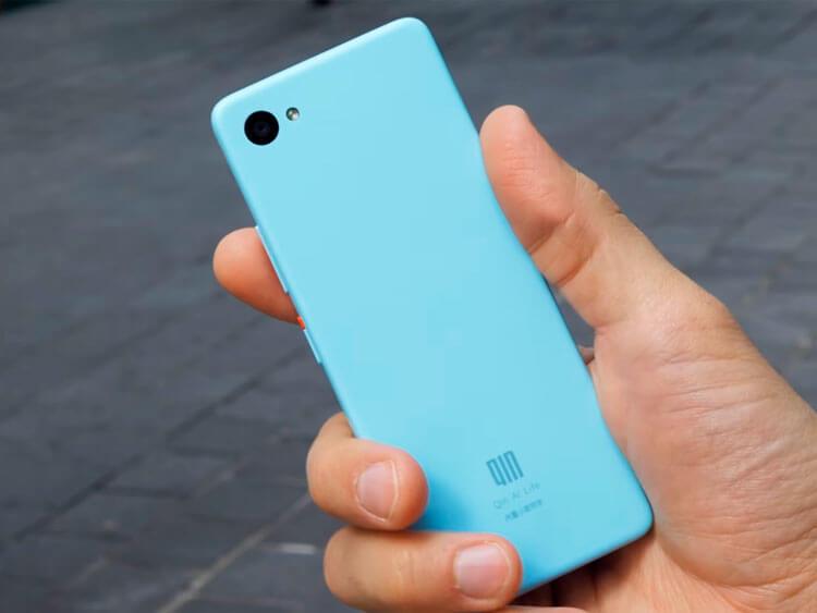 Xiaomi Qin 2 сзади