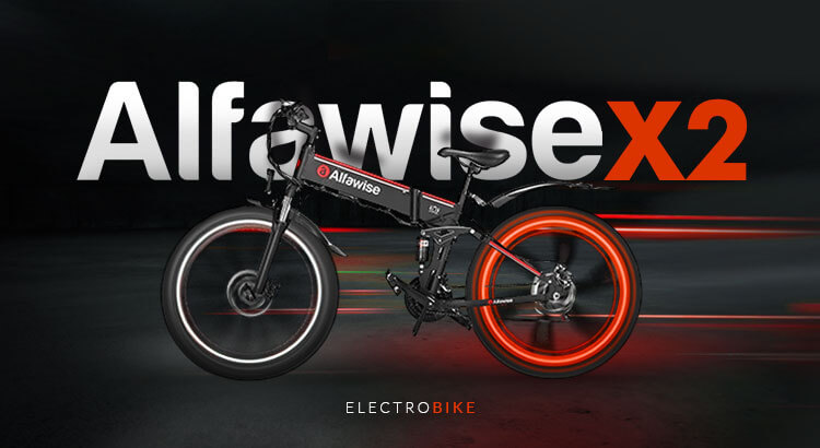 электровелосипед Alfawise X2