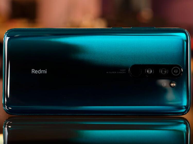 Redmi Note 8 Pro сзади