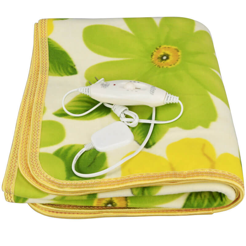 Плисовое одеяло с электрическим подогревом