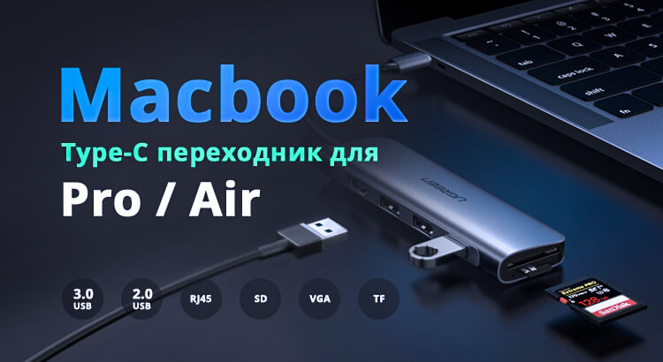 Macbook кадридер