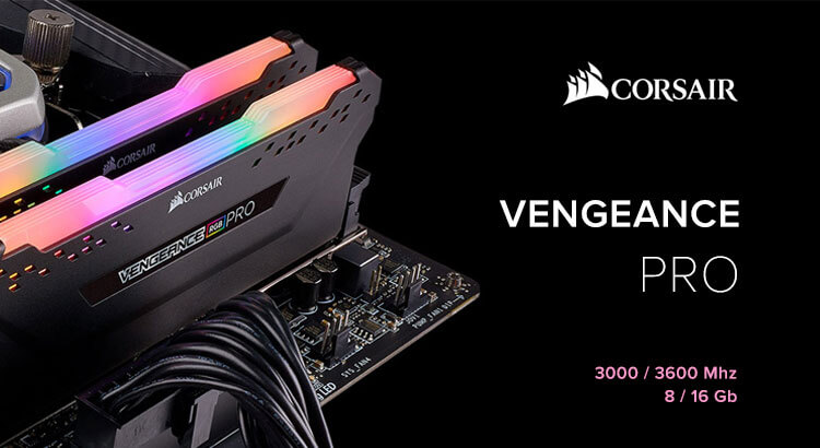 CORSAIR Vengeance PRO 3000-3600 МГц 8-16 ГБ