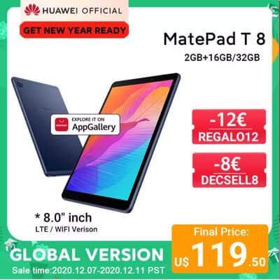 Планшет HUAWEI Matepad T8. Доставка по миру