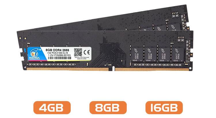 ОЗУ VEINEDA 16 ГБ 2666 МГц