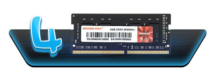 ОЗУ для ноутбука GUDGA DDR4 16GB 2666mhz
