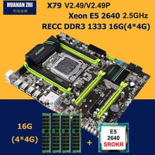 X79 motherboard with M.2 CPU Intel Xeon E5 2640 2.5GHz RAM 16G DDR3 RECC
